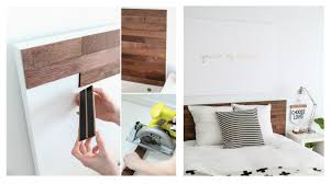 awesome ikea hack of the week a wooden headboard that doesn u0027t
