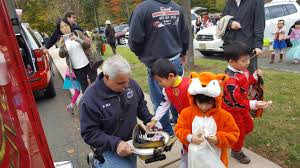 hundreds attend sixth annual fright night halloween event in