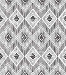 abstract geometric seamless pattern fabric doodle zig zag line