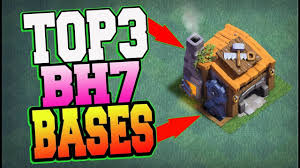 clash of clans builder base top 3 best bh7 base anti 2 star anti