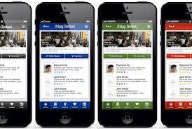 design application ios ios social reviews app design
