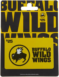 Spirit Halloween Gift Card Amazon Com Buffalo Wild Wings Gift Card 25 Gift Cards