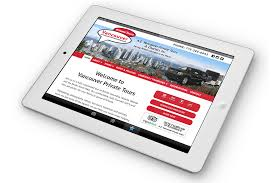 vancouver private tours netclimber web design inc
