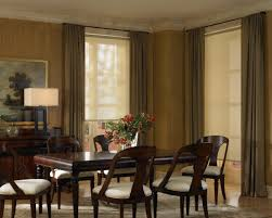 Dining Room Drapery by Hunter Douglas Shutters Hunter Douglas Designer Screenshades