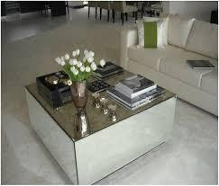 kyla mirrored coffee table mirrored coffee table square furniture