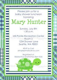 baby shower lunch invitation wording turtle printable baby shower or birthday invite dimple prints shop