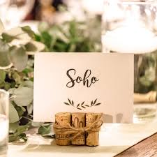 wedding table number fonts green leaves wedding table number with cork stand invitation cafe
