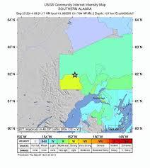 us map anchorage alaska powerful 6 2 magnitude earthquake hits alaska ny daily news