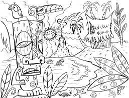aloha hawaii coloring page free printable coloring pages 19877