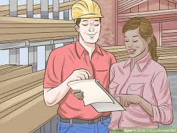 how to write a construction bid with pictures wikihow