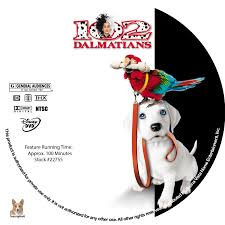 102 dalmatians dvd labels 2000 r1 custom