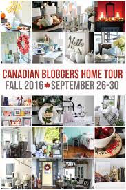 Fall Home Decorating by Bright U0026 Airy Lake House Fall Home Tour Part 1 The Happy Housie