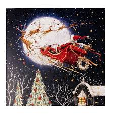 santa claus is coming to town charity cards
