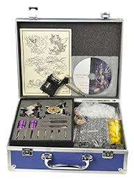 amazon com rotary tattoo kit 3 gun tattoo machine kit complete