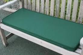 green bench cushion uk gardens green garden furniture 2 seater garden bench cushion