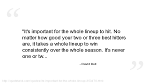 david bell quotes