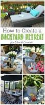 how to create a backyard oasis clean and scentsible