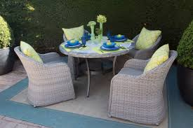 Exterior Design Elegant Wicker Dining Chairs With Janus Et Cie - Round dining table with wicker chairs