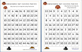 thanksgiving skip counting mazes 2s 3s 5s free homeschool den