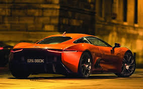 orange maserati spectre bond villain u0027s jaguar c x75 driven