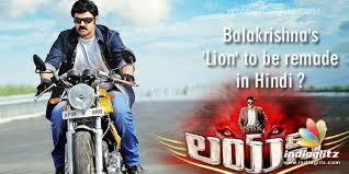 film hindi lion balakrishna s lion to be remade in hindi telugu movie news