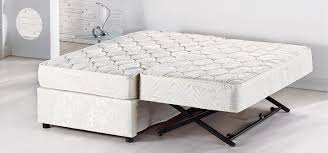 Foldable Twin Bed High Rise Mattress Trundle Beds U0026 Folding Beds Furniture Decor