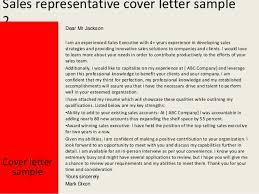 sales representative cover letter samples pharmaceutical sales