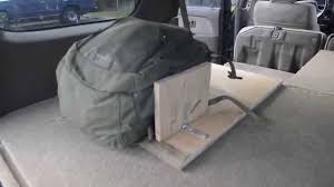 jeep bed in back custom 4runner storage and sleeping area youtube