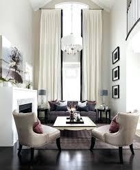 High Window Curtains High Ceiling Window Treatments Glassnyc Co