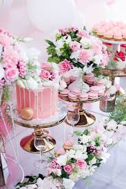 pink white gold wedding kara s party ideas pink white gold garden party kara s party