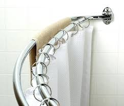 best 25 double shower curtain ideas on in curved rod design 4