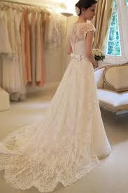 affordable bridal gowns cap sleeve lace a line wedding dresses 2017 custom wedding