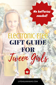 electronic free gifts for tween girls no batteries required