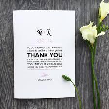 Flat Wedding Programs Customise Your Wedding Program Roco U0026 Miley