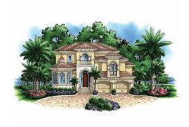 house plans mediterranean eplans mediterranean modern house plan narrow lot mediterranean