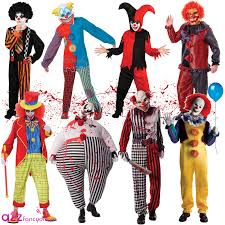 jester halloween costumes new mens clown it jester horror scary halloween circus kids fancy