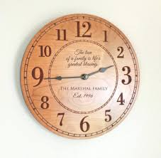 personalized clocks with pictures 15 collection of personalised wall clocks india