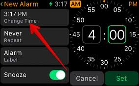 how to create an alarm on apple watch to make sure you wake up on