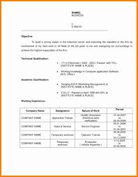 Apprentice Electrician Resume Sample by Hadoop Resume Format Virtren Com