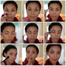 dark skin eyeshadow ideas and tutorials simple makeup tutorial for work