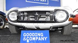 toyota auto company gooding pebble beach 2014 1967 toyota 2000gt in white with