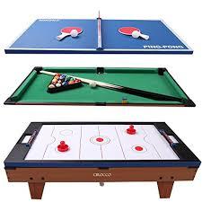 large multi game table 3 in 1 multi game table tennis air powered hokey pool billiard