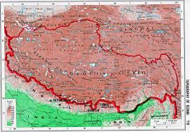 Geographical Map Of China by Topography Of Xizang Tibet Topography Map