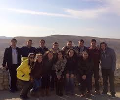 Juf news juf mission takes illinois student leaders of different
