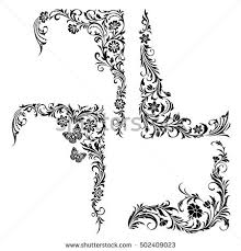 floral ornament stock images royalty free images vectors