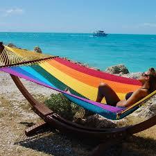 hammocks jumbo rainbow by the caribbean hammocks store of usa