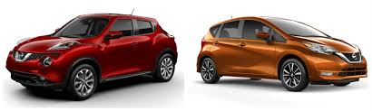 2017 nissan juke vs 2017 nissan versa note color studio exterior