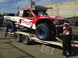 baja trophy truck battle of the 5 7l stock full in the 2014 baja 1000 toyota
