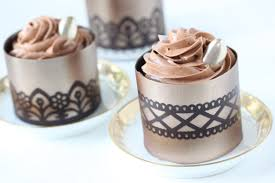 where to buy chocolate dessert cups how to make stenciled chocolate dessert cups