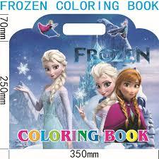 frozen coloring book 32x35cm sm 001 frozen elsa anna coloring